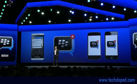 Blackberry to offer BBM for iOS and Android this Summer | Tech Doped | Tech News | Scoop.it