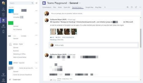 Rajouter Yammer dans Microsoft Teams | Sharepoint 2013 FR - OFFICE 365 - YAMMER | Scoop.it