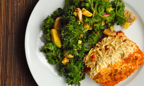 Vegan Mofo Day 6: Kale Salad | Beyond Chicken Salad | Scoop.it
