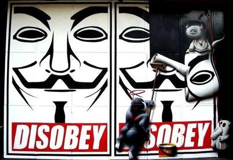 Anonymous : derrière le masque, une révolution de l'hacktivisme ? | Intelligence-strategique.eu | Web 2.0 et société | Scoop.it