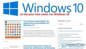 Le site du jour : Win10.fr pour tout savoir sur Windows 10 | TIC et TICE mais... en français | Scoop.it