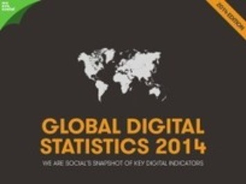 Tous les chiffres 2014 sur l'utilisation d'Internet, du mobile et des médias sociaux dans le monde   MOOC Francophone   Scoop.it