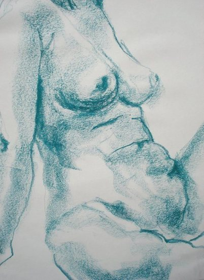 Sophie Pavot      Painter  nude art     France | Vitrinart and shares -solidarity | Scoop.it