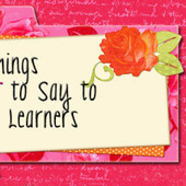 5 Things Not to Say to AAC Learners | AAC & Language Intervention | Scoop.it