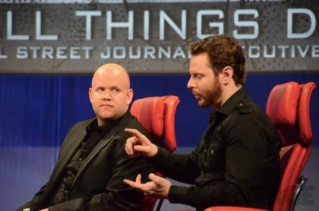 Spotify's Daniel Ek and Sean Parker: 'We're not competing with Apple, we're competing with piracy' | Music business | Scoop.it