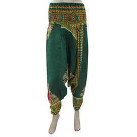 moguinterior Yoga Harem Pants Green Trible Print Baggy Pants Bohemian Clothing - Clothing - Women's - Pants | Bohemian Harem Pant | Scoop.it
