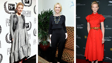 Cate Blanchett's Fashion Choices - New York Times | Lovely father | Scoop.it