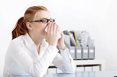 There's No Escaping Your Sick Coworker's Germs | Huffington Post | CALS in the News | Scoop.it