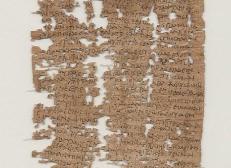 Une lettre écrite il y a 1800 ans par un soldat égyptien déchiffrée | GenealoNet | Scoop.it