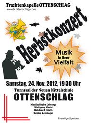 Herbstkonzert der Trachtenkapelle Ottenschlag | Nömedia | Scoop.it