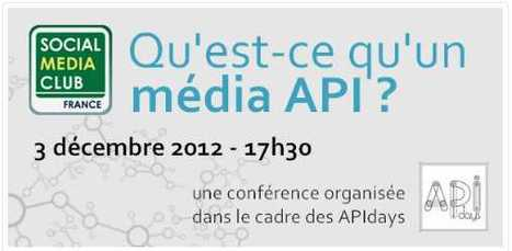 Vers une APIsation des médias ? | Social Media Club France | Connected Media (English & Francais) | Scoop.it