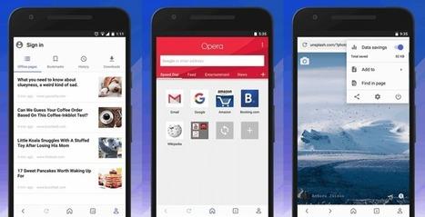 El renovado Opera para Android con interfaz Material Design | Aprendiendoaenseñar | Scoop.it
