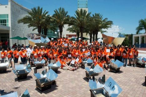 "Celebrating 25 Years of iEARN: ""Solar Cooking Project, Miami Country Day School, Florida, April 20, 2012"" 