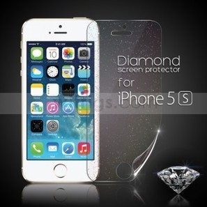 Diamond Front LCD Screen Protector for Apple iPhone 5S - Witrigs.com | Do iphone 5s need screen protectors | Scoop.it