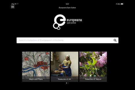 Europeana, Europe's digital library, museum and archive, releases cross-platform culture app | Art Daily | Kiosque du monde : A la une | Scoop.it