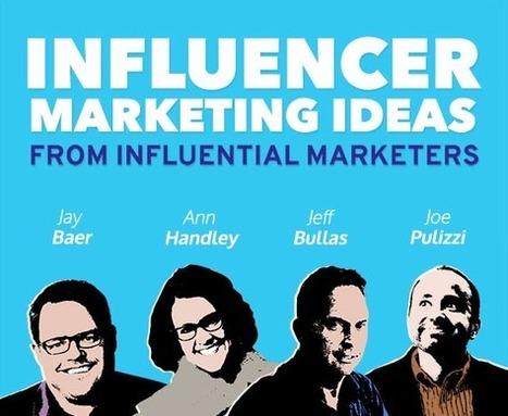 Influencer Marketing Ideas from Influential Marketers - INFOGRAPHIC | Feldman Creative | Digital Marketing | Scoop.it