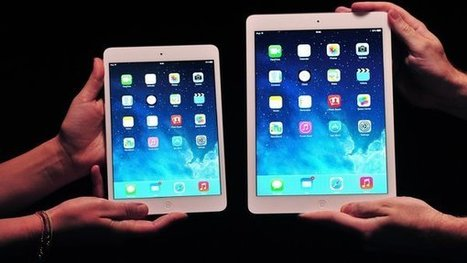 Lighter and Faster, It's iPad Air | General | Scoop.it