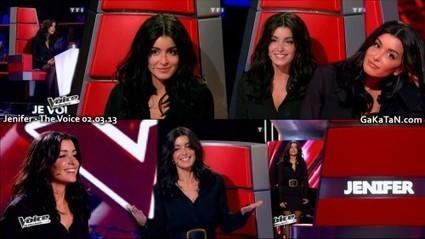 Photos : Jenifer sexy dans The Voice (02/03/13) | Radio Planète-Eléa | Scoop.it