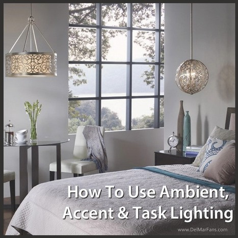 Different Types of Lighting and How to Use Them | Ceiling Fans | Scoop.it