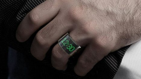 Smartwatch Too Bulky? Try the Smarty Ring | Connected Device | Scoop.it