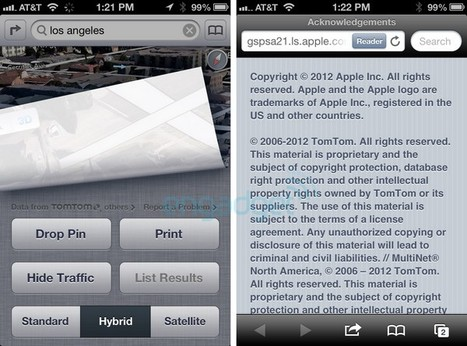 Apple selects TomTom as primary iOS 6 maps provider (update: confirmed) | M-CRM & Mobile to store | Scoop.it