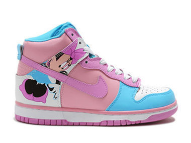 Nike SB Minnie Mouse High Tops Dunks Pink Sale For Girls [disney-shoes-1005] - $80.00 : DC Comic Dunks ,Marvel Comic Dunks, Superhero Nike Dunks Shoes ,Superman ,Batman ,Spiderman,Captain America N... | Mickey Mouse Nike Dunks | Scoop.it
