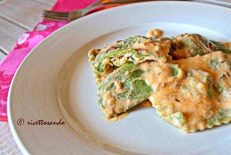 Ricettosando - ricette di cucina e chiacchiere: Tortelli verdi di spinaci con ricotta | Ricettosando | Scoop.it