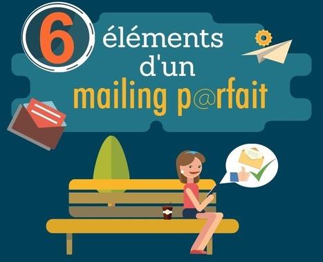 [Infographie] 6 éléments d'un mailing parfait | Geeks | Scoop.it