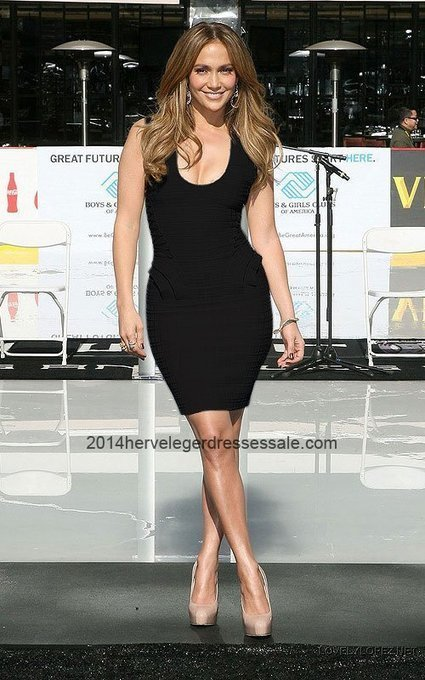 Jennifer Lopez Herve Leger Black U-neck Bandage Dress Sale [Herve Leger Bandage Dresses 2003] - $164.00 : 2014 Herve Leger   Cheap Herve Leger   BCBG & Herve Leger   Scoop.it