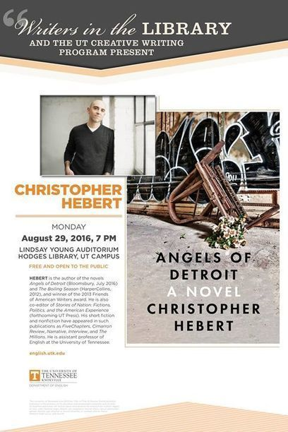 Writers in the Library Reading: Christopher Hebert | Fievent.com | Tennessee Libraries | Scoop.it