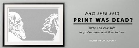 Litographs, tus obras literarias favoritas plasmadas en objetos | ARTE, ARTISTAS E INNOVACIÓN TECNOLÓGICA | Scoop.it