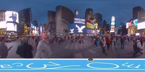 Une caméra à 360 degrés vraiment impressionnante! | L'office de tourisme du futur | Scoop.it