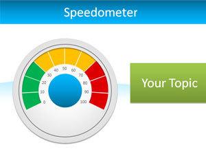 Editable Speedometer PowerPoint Template | Financial Power Points | Scoop.it