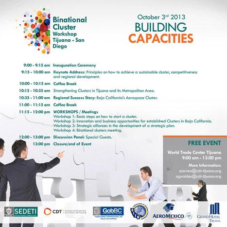 Binational Cluster Workshop - Building Capacities | San Diego Center for International Trade Development (CITD) | Global Trade and Logistics | Scoop.it