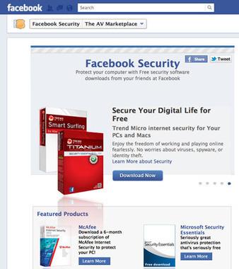 » Facebook samarbete erbjuder gratis antivirusprogram » Blogg om programvara | Folkbildning på nätet | Scoop.it