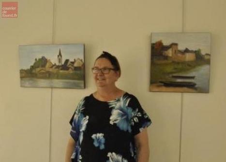Chalonnes. L'artiste Nicolel expose pour un mois à l'office de tourisme   L'Office de Tourisme   Scoop.it