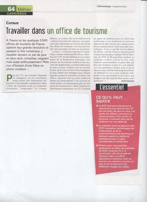 La révolution numérique dans les Offices de Tourisme | Accueil numérique dans les offices de tourisme | Scoop.it