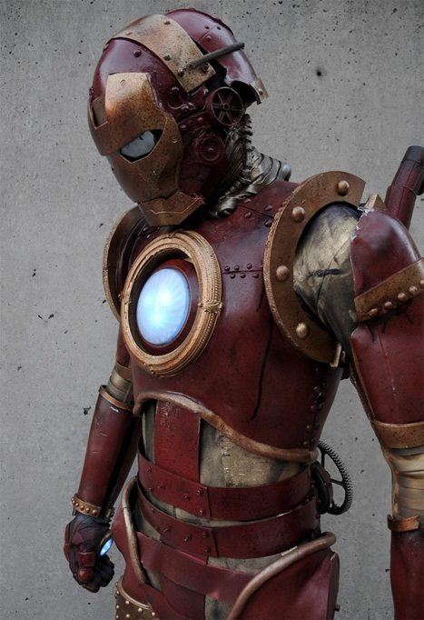 Steampunk Iron Man | All Geeks | Scoop.it