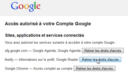 Comment retirer les droits d'accès d'une application ou d'un service sur votre compte Google ? | EDM en BTS SIO mais pas que... | Scoop.it