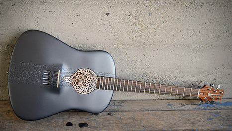 The World's First 3D-Printed Acoustic Guitar   DIY Manufacturing / 3d Printing   Scoop.it