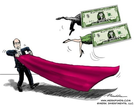 Fed to Debase Dollar? | Axel Merk | Safehaven.com | Gold and What Moves it. | Scoop.it