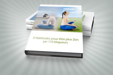 3 habitudes pour être zen au quotidien - le livre - 170 articles de blogueurs   Méthodes d'organisation   Scoop.it