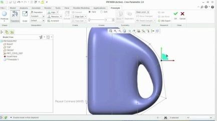 Using PTC Creo Parametric Freestyle to Create Award-Winning Designs | PTC 3D CAD, PLM and PDM | Scoop.it