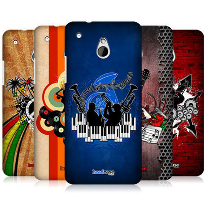 Head Case Designs Music Genre Protective Hard Back Case Cover for HTC One Mini   Mobile Phones Stuff   Scoop.it