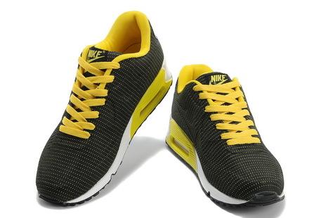 Betaalbaar Nike Air Max 90 VT Heren Zwart Geel Wit Schoenen | Fashion world! | Scoop.it