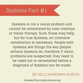 Dyslexia Facts - Dyslexia Training Institute Blog   Decoding Dyslexia RI   Scoop.it