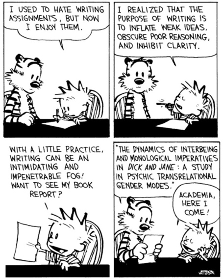 Why academic writing is so bad | The War Room | International Literacy Management | Scoop.it
