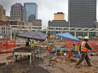 Artifacts unearthed during construction in Indianapolis | Archaeology News Network | Kiosque du monde : Amériques | Scoop.it