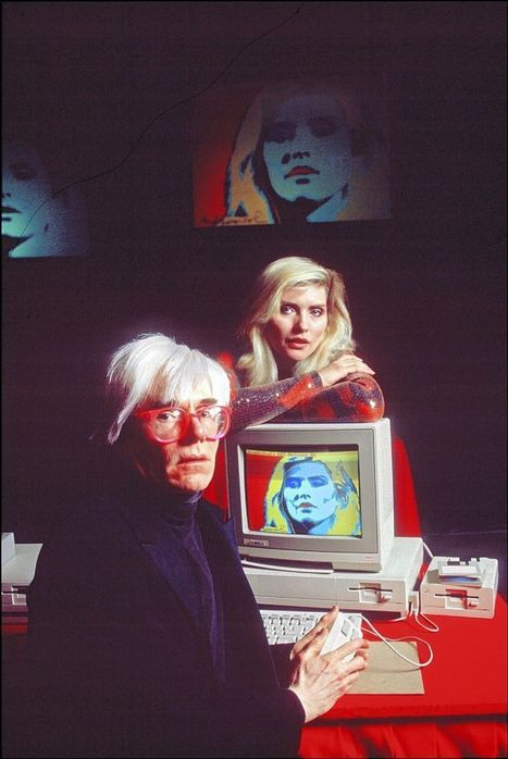 The Next Page: Andy Warhol's digital palette | Painting and Digital Technology | Scoop.it