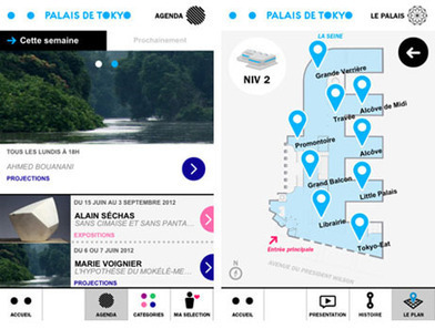 Avec son application mobile gratuite, le Palais de Tokyo se lance dans une nouvelle médiation numérique   Clic France   Scoop.it